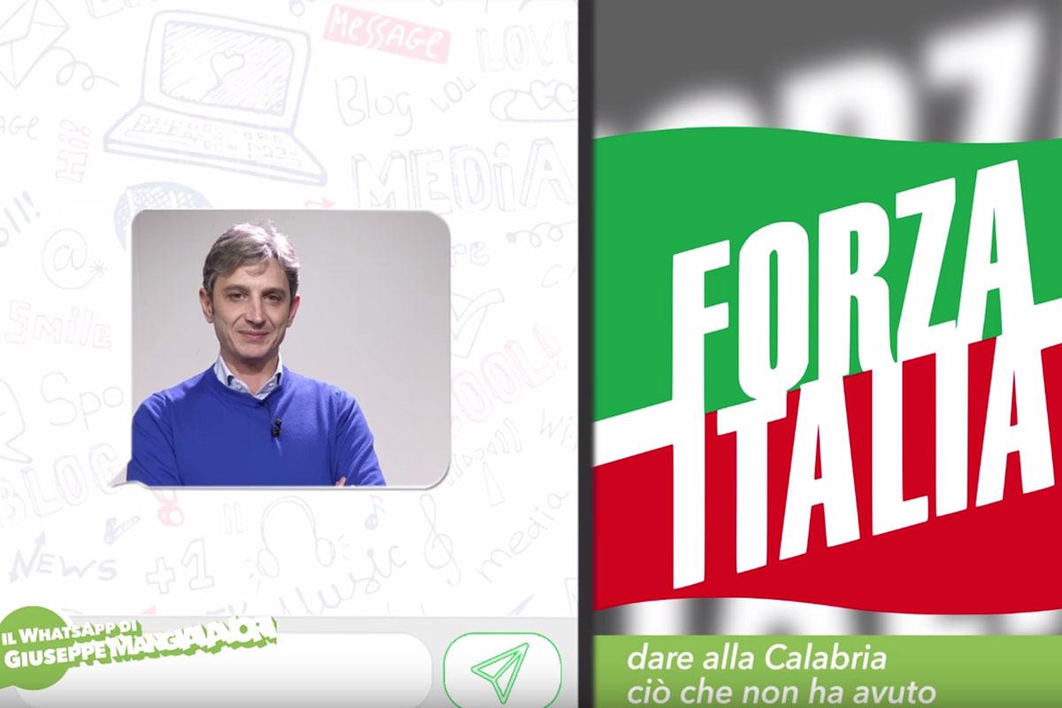 Giuseppe Mangialavori, il whatsapp delCandidato al Senato, proporzionale Calabria: alla Calabria va dato ciò di cui è stata privata, ma che ha sempre meritato ampiamente.
