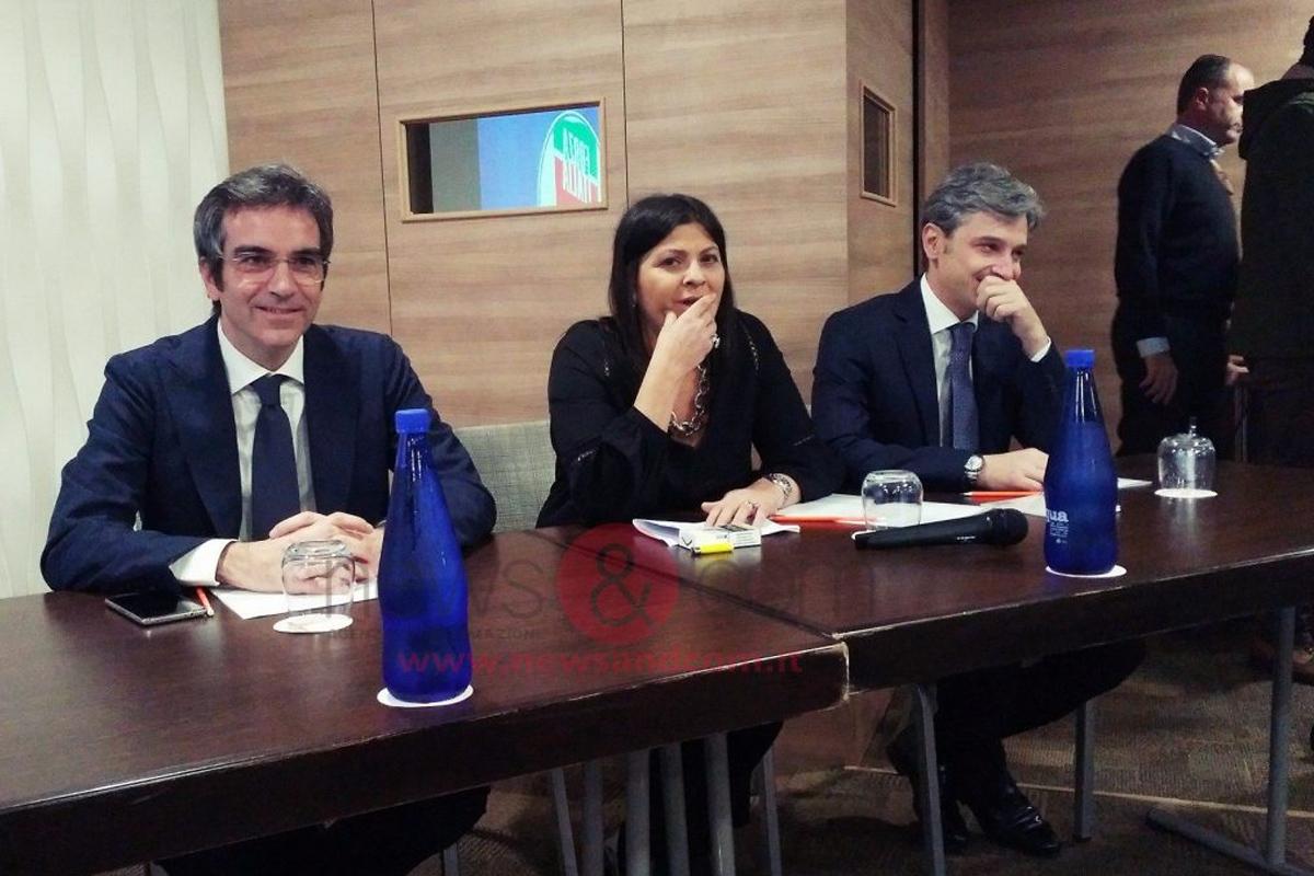 """Forza Italia si presenta a Lamezia. Giuseppe Mangialavori: """"Siamo carichi e pronti a dare alla Calabria una rappresentanza diversa»."""