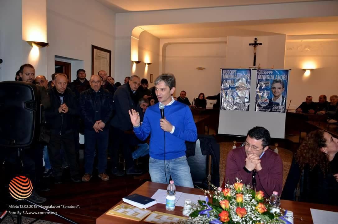 Giuseppe Mangialavori incontra Mileto