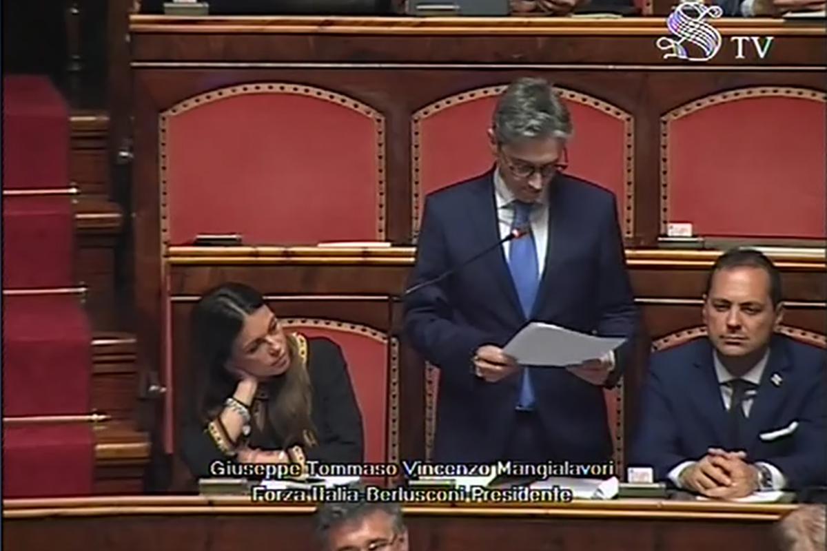 Nubifragio Calabria: l'intervento di Mangialavori al Senato | Blog