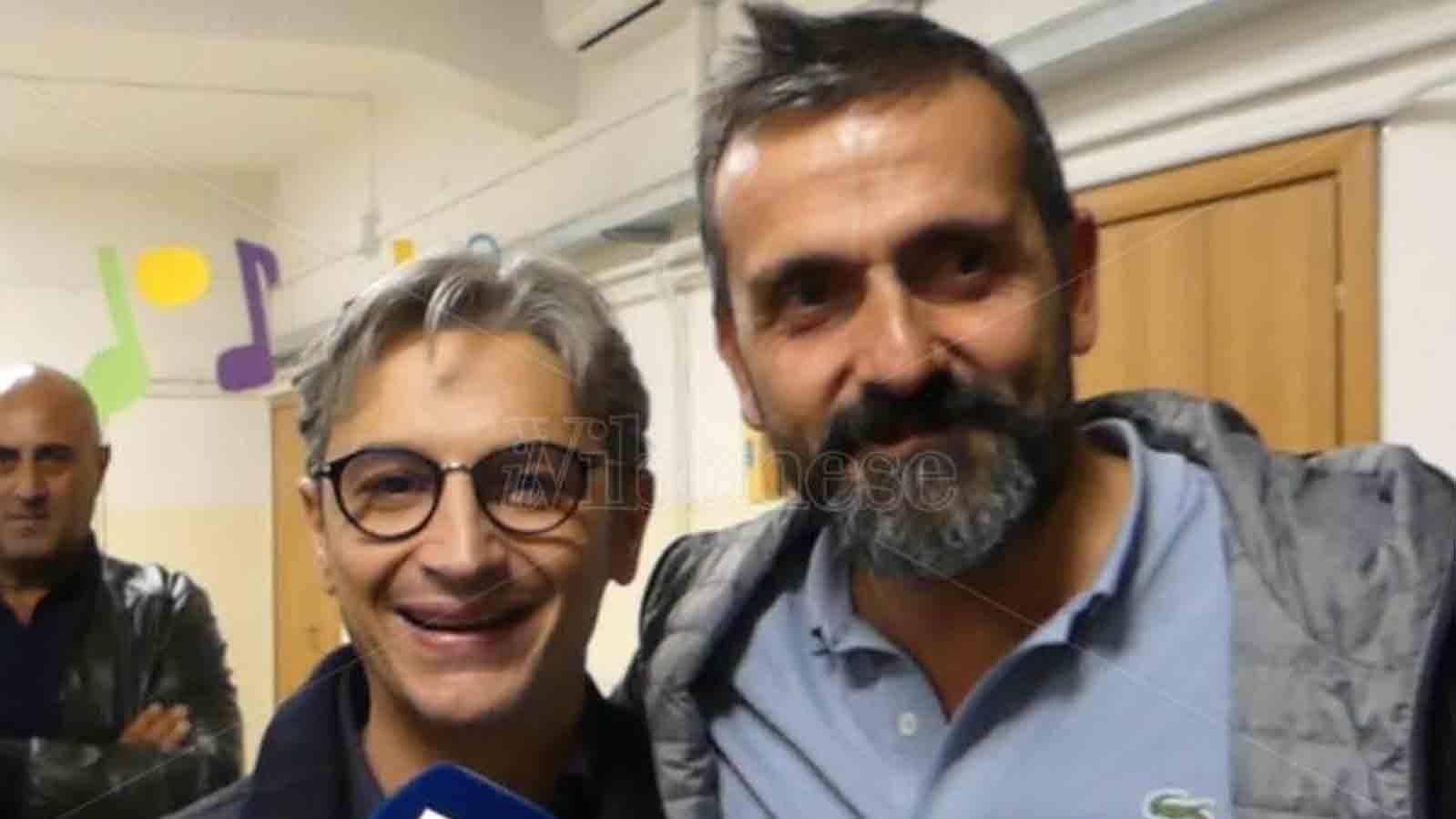 Giuseppe mangialavori e Nino Macrì, nuovo sindaco Tropea
